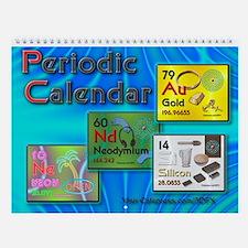 Periodic Atomic Wall Calendar