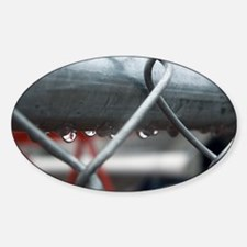 Rain and Chainlink Decal