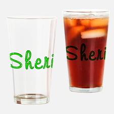 Sheri Glitter Gel Drinking Glass