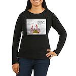Mayan Calendar 2 Women's Long Sleeve Dark T-Shirt
