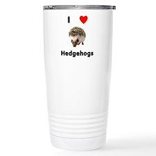 I Love Hedgehogs Travel Mug