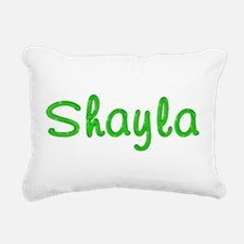 Shayla Glitter Gel Rectangular Canvas Pillow