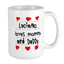 Luciano Loves Mommy and Daddy Mug