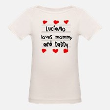 Luciano Loves Mommy and Daddy Tee