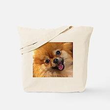 Happy Pomeranian Tote Bag