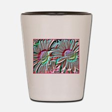 Daisies! Floral art, photo! Shot Glass