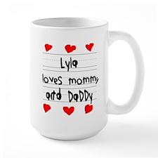 Lyla Loves Mommy and Daddy Mug