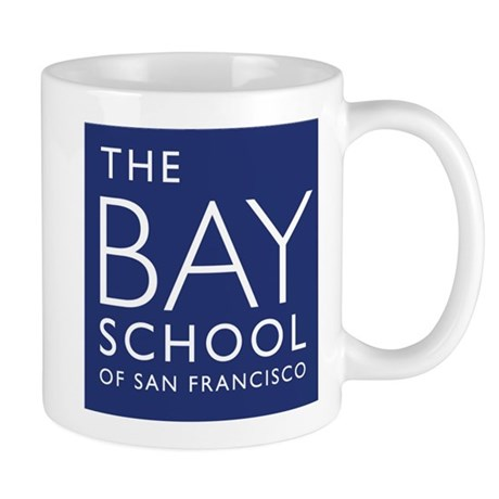 The Official logo of the Bay School Mug