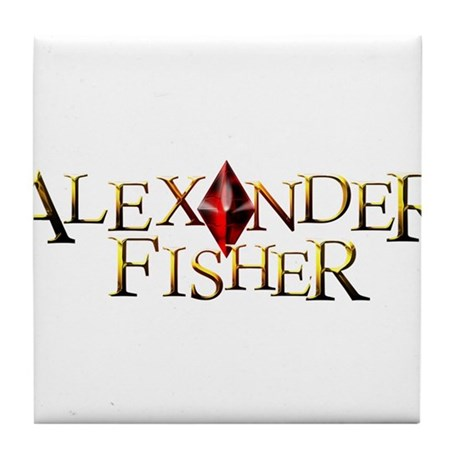Alexander Fisher Tile Coaster