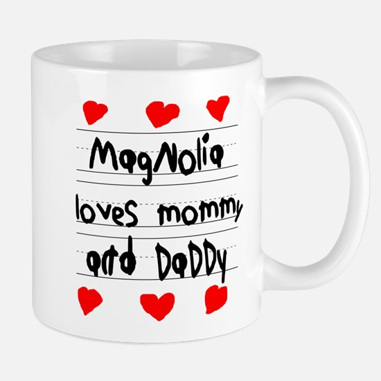 Magnolia Loves Mommy and Daddy Mug
