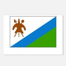 Lesotho Flag Picture Postcards (Package of 8)