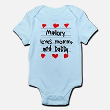 Mallory Loves Mommy and Daddy Infant Bodysuit