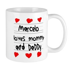 Marcelo Loves Mommy and Daddy Small Mug