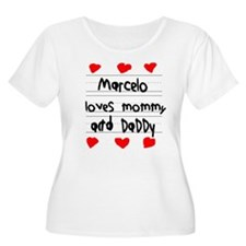 Marcelo Loves Mommy and Daddy T-Shirt