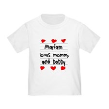 Mariam Loves Mommy and Daddy T