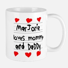 Marjorie Loves Mommy and Daddy Small Small Mug