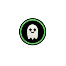Ghosts Welcome Mini Button