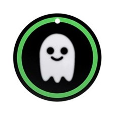 Ghosts Welcome Ornament (Round)