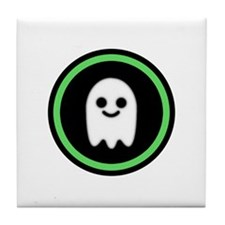 Ghosts Welcome Tile Coaster