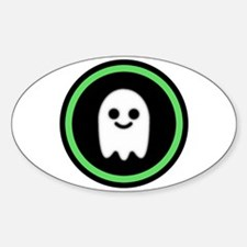 Ghosts Welcome Oval Decal