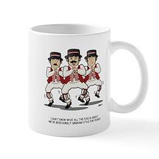 Morris Dancers Gangnam Style Small Mug