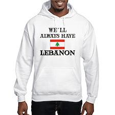 Flag of Lebanon Hoodie