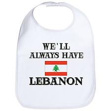 Flag of Lebanon Bib