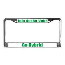 Re-Volt License Plate Frame