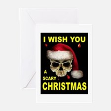 SCARY CHRISTMAS Greeting Cards (Pk of 20)