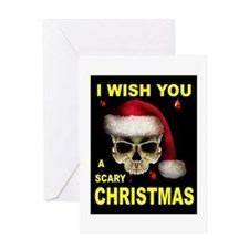 SCARY CHRISTMAS Greeting Card