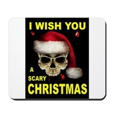 SCARY CHRISTMAS Mousepad