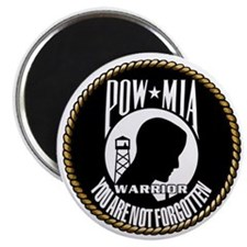 POW/MIA Warrior Magnet
