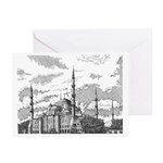 The Blue Mosque Art Cards
