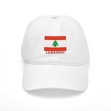 Flag of Lebanon Baseball Cap
