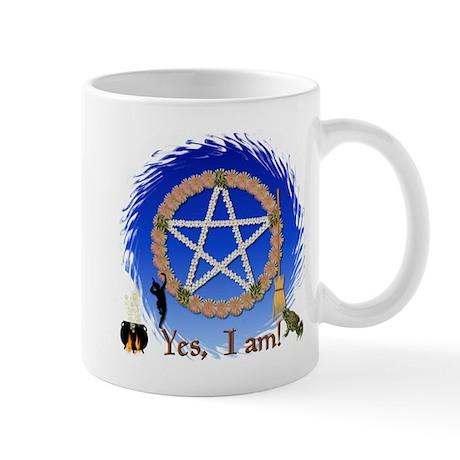"""""""Yes, I Am A Witch"""" Mug"""