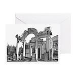 Hadrian's Temple Art Cards