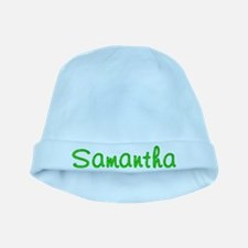 Samantha Glitter Gel baby hat