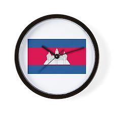 Cambodia Wall Clock
