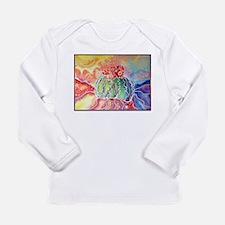 Cactus! Southwest art! Long Sleeve Infant T-Shirt