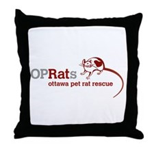 OPRats Throw Pillow