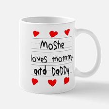 Moshe Loves Mommy and Daddy Mug
