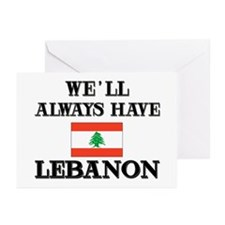 We Will Always Have Lebanon Greeting Cards (Packag
