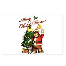 Merry Chris-Moose! Postcards (Package of 8)