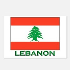 Lebanon Flag Gear Postcards (Package of 8)
