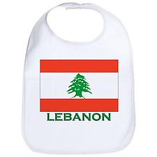 Lebanon Flag Gear Bib