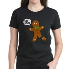 Oh, Snap! Funny Gingerbread Christmas Gift Tee