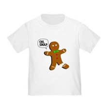 Oh, Snap! Funny Gingerbread Christmas Gift T