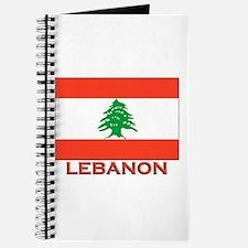 Lebanon Flag Merchandise Journal