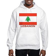 Lebanon Flag Merchandise Hoodie