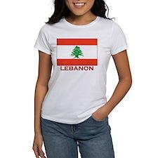 Lebanon Flag Merchandise Tee